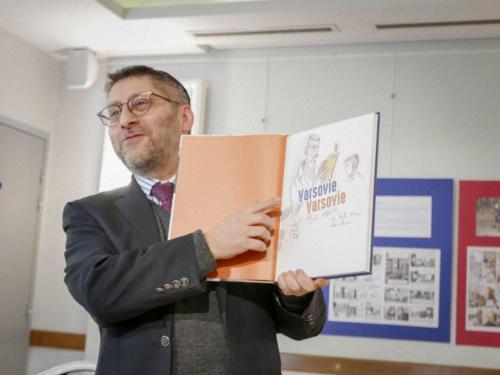 Le Grand Rabbin de France - grand connaisseur de la BD