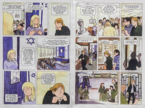 Planche BD - Comprendre Israël