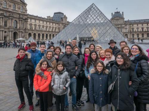 Jewish code au Louvre - décembre 2018