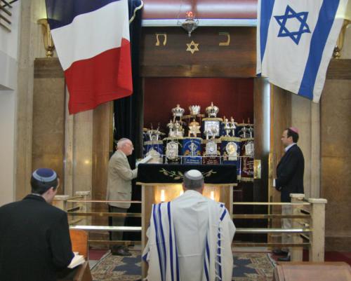 Yom Haatzmaout 2005 - Ouverture du Hékhal