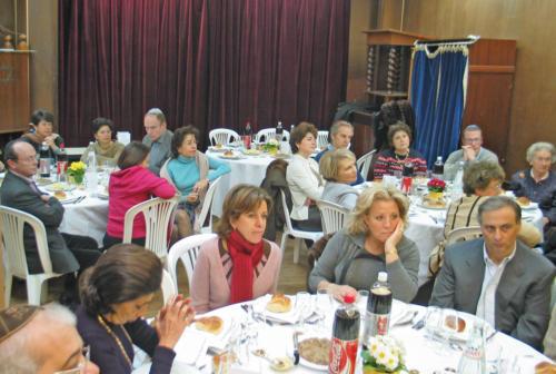 Déjeuner de l'action Sociale - 2005